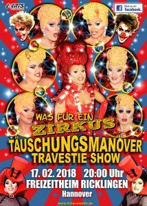 Täuschungsmanöver Travestie-Show in Hannover
